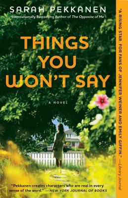 Things You Won't Say Cover