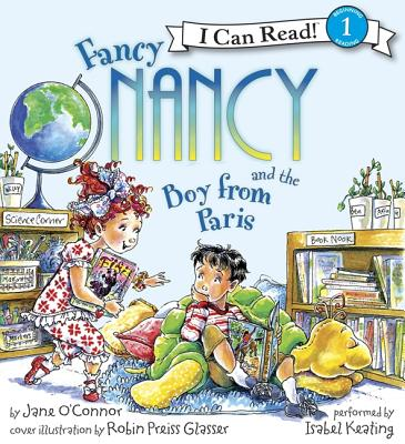Fancy Nancy and the Boy from Paris Book and CD Cover Image