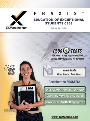 Praxis Education of Exceptional Students 0353 Test Prep Teacher Certification Test Prep Study Guide Cover