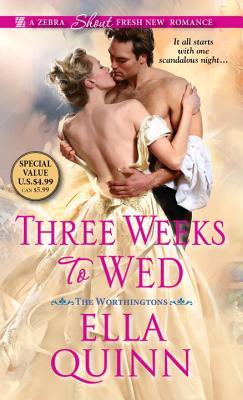 Three Weeks To Wed (The Worthingtons #1) Cover Image