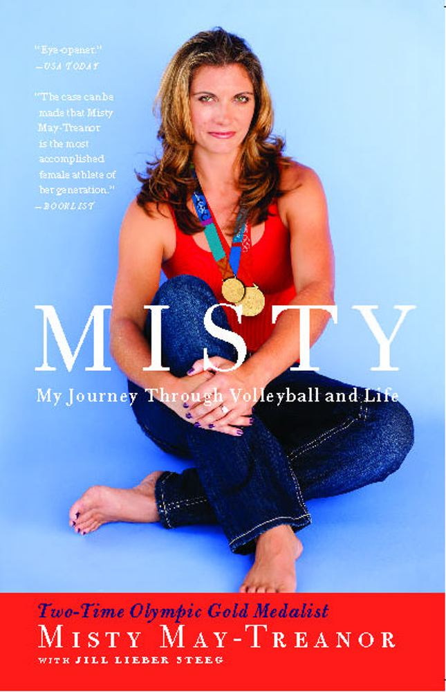 Misty: My Journey Through Volleyball and Life Cover Image