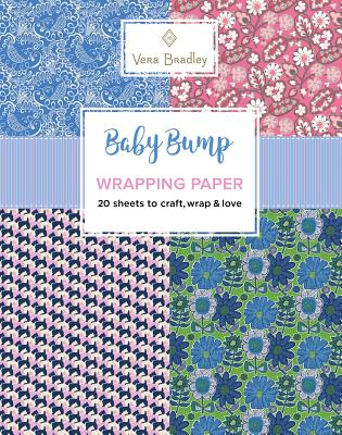 Vera Bradley Baby Bump Wrapping Paper Cover Image