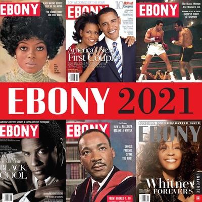 Ebony 2021 Wall Calendar Cover Image
