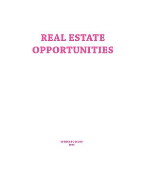 Real Estate Opportunities Cover Image