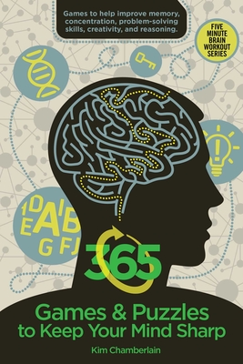 365 Games & Puzzles to Keep Your Mind Sharp (Brain Workout) Cover Image