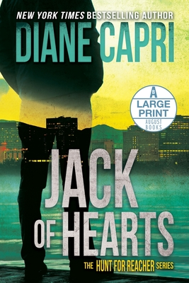 Jack of Hearts Large Print Edition: The Hunt for Jack Reacher Series Cover Image