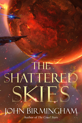 The Shattered Skies (The Cruel Stars Trilogy #2) Cover Image