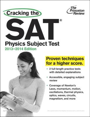 Cracking the SAT Physics Subject Test Cover