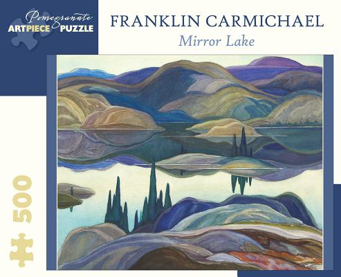 Franklin Carmichael: Mirror Lake 500-Piece Jigsaw Puzzle Cover Image