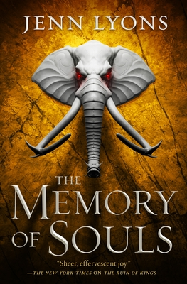 The Memory of Souls (A Chorus of Dragons #3) Cover Image