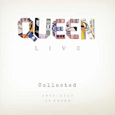 Queen Live Collected: 1970-2020 Cover Image