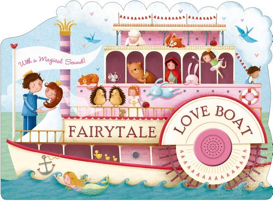 Fairytale Love Boat (Shaped Board Books) Cover Image