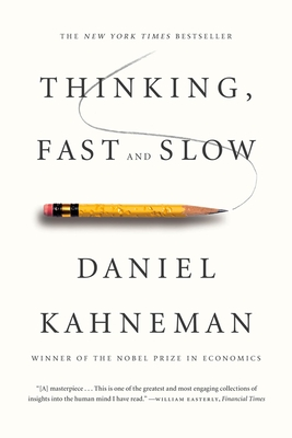 Thinking, Fast and Slow Daniel Kahneman, FSG, $17,