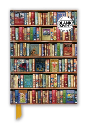 Bodleian Libraries: Hobbies & Pastimes Bookshelves (Foiled Blank Journal) (Flame Tree Blank Notebooks) Cover Image