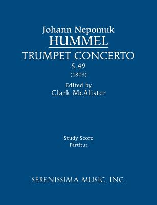 Trumpet Concerto, S.49: Study score Cover Image