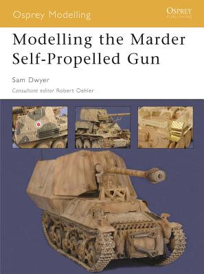 Modelling the Marder Self-Propelled Gun Cover