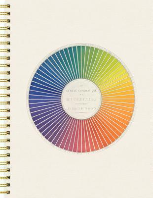 Color: A Sketchbook and Guide (8-1/4 x 11 inches, hardcover with wire binding, 100 blank pages plus 40 full-color vintage illustrations) Cover Image