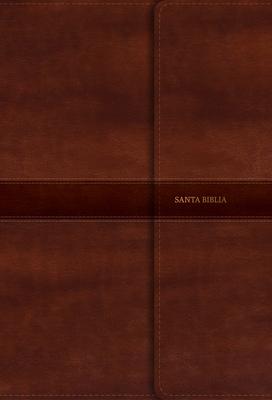 Cover for RVR 1960 Biblia Letra Súper Gigante marrón, símil piel y solapa con imán