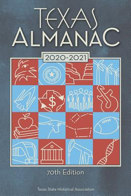 Texas Almanac 2020-2021 Cover Image