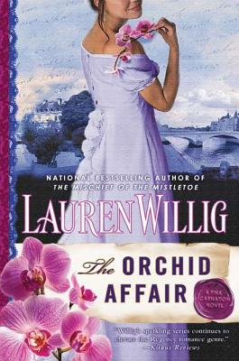 The Orchid Affair: A Pink Carnation Novel Cover Image