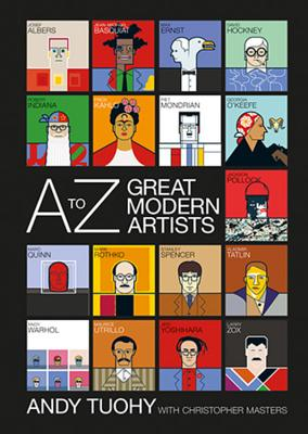 A-Z Great Modern Artists Cover Image