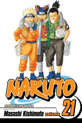 Naruto, Vol. 21 cover image