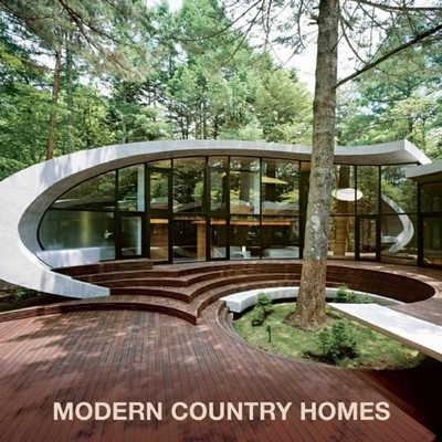 Modern Country Homes Cover Image