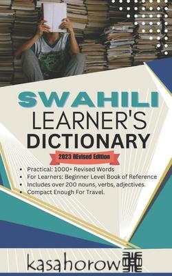 Swahili Learner's Dictionary: Swahili-English, English-Swahili Cover Image
