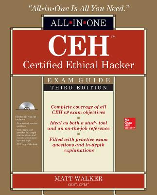 Ceh Certified Ethical Hacker All-In-One Exam Guide, Third Edition [With Access Code] (Oracle Press) Cover Image