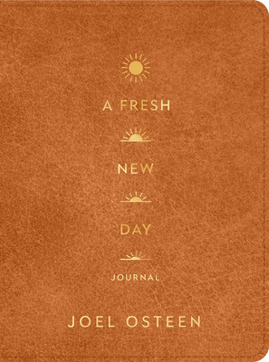 Cover for A Fresh New Day LeatherLuxe® Journal