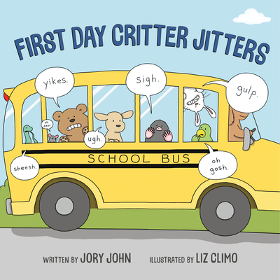 First Day Critter Jitters Cover Image