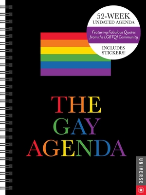 The Gay Agenda Undated Calendar Cover Image