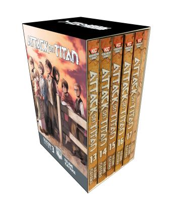 Attack on Titan Season 3 Part 1 Manga Box Set cover image