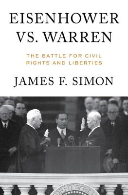 Eisenhower vs. Warren: The Battle for Civil Rights and Liberties Cover Image