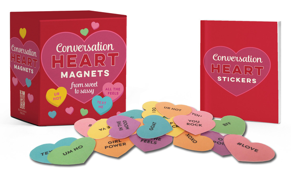Conversation Heart Magnets: From Sweet to Sassy (RP Minis) Cover Image