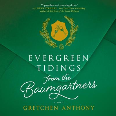 Evergreen Tidings from the Baumgartners Lib/E Cover Image