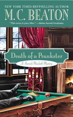 Death of a Prankster (A Hamish Macbeth Mystery #7) Cover Image