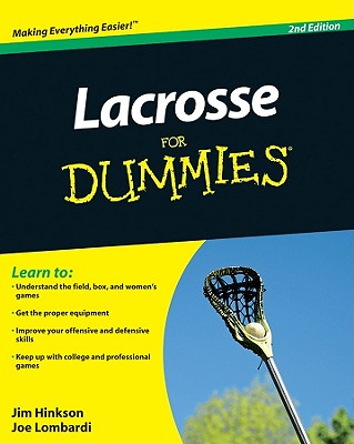 Lacrosse for Dummies Cover Image