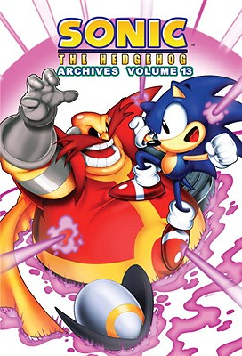 Sonic the Hedgehog Archives, Volume 13 Cover
