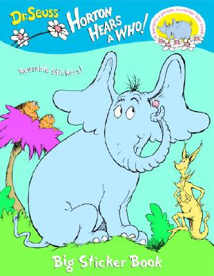 Horton Hears a Who Big Sticker Book Cover Image
