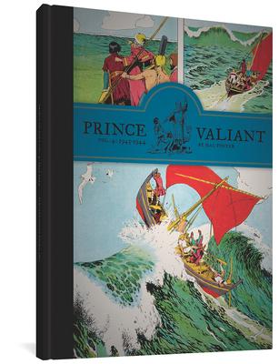 Prince Valiant, Volume 4 Cover