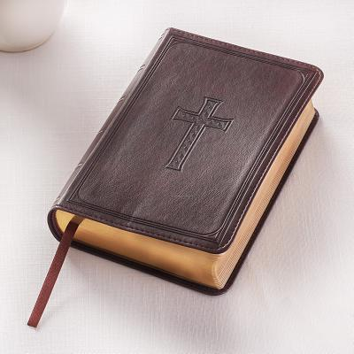 KJV Compact Large Print Lux-Leather DK Brown Cover Image