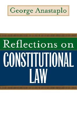 Cover for Reflections on Constitutional Law