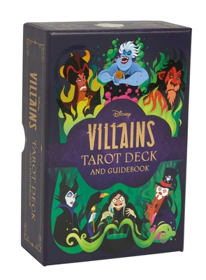 Disney Villains Tarot Deck and Guidebook | Movie Tarot Deck | Pop Culture Tarot  Cover Image