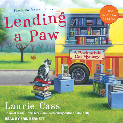 Lending a Paw (Bookmobile Cat Mystery #1) Cover Image