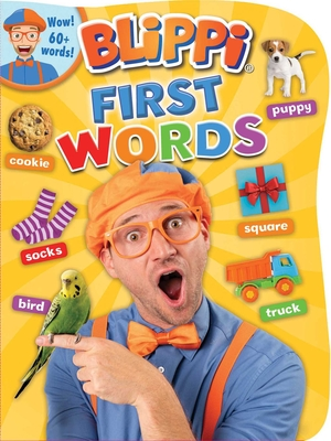 Blippi: First Words (Board Book) Cover Image