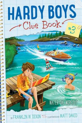 Water-Ski Wipeout (Hardy Boys Clue Book #3) Cover Image