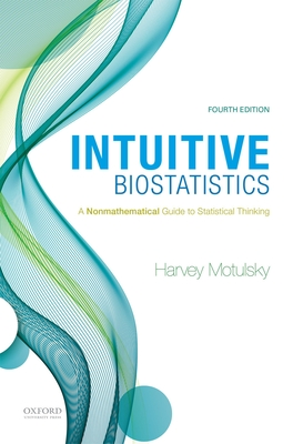 Intuitive Biostatistics: A Nonmathematical Guide to Statistical Thinking Cover Image
