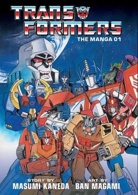 Transformers: The Manga, Vol. 1 Cover Image