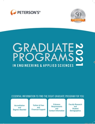 Graduate Programs in Engineering & Applied Sciences 2021 Cover Image